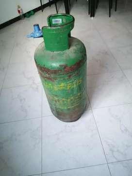Pipeta de gas con regulador
