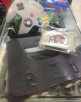 Nintendo Ultra 64 con Golden