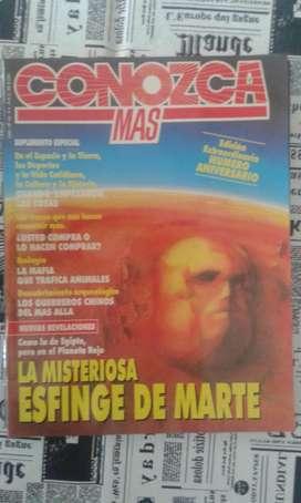 Revista Conozca Mas La Misteriosa Esfinge De Marte