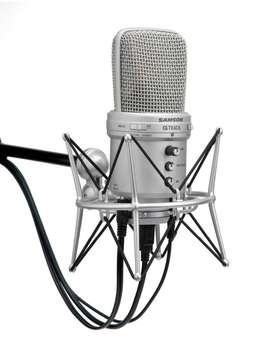 Microfono condensador Usb Samson G-Track
