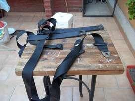 cinturones de seguridad  usados