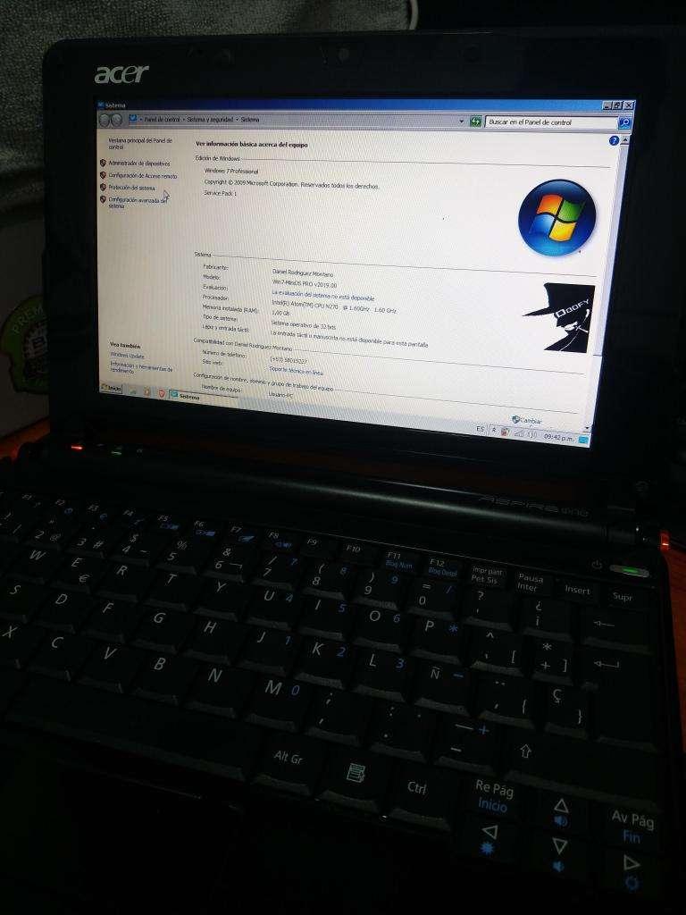 Acer Aspire One ZG5 0