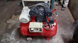 Compresora d aire 30galones 3hp Trifasico con Motor Siemens