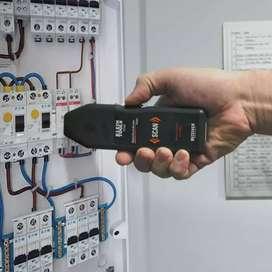 Buscador digital de corriente