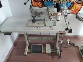 Maquina de coser collarín
