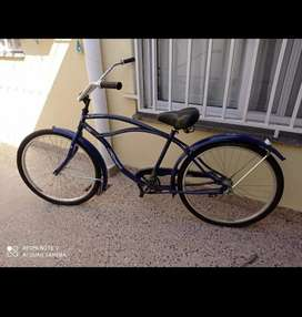 Bicicleta playera chopera