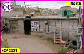 CxC Venta Casa  Terreno, Rancho Alto, Norte de Quito, Exp. 2421