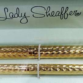 SHEAFFER 835 PLUMA & ROLLER MEDIUM 14k GOLD