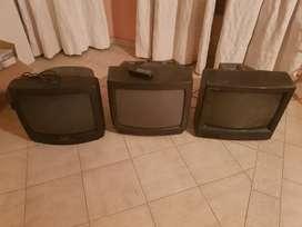 3 televisores 20 pulgadas
