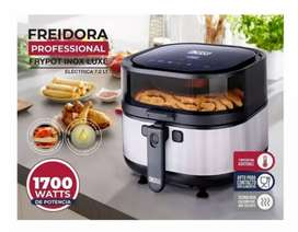 Olla Freidora dkasa 7.2 litros air fryer 80% menos aceite