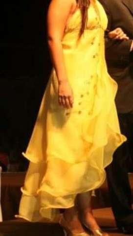 Vestido de Fiesta Elegante Talle L