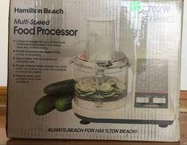 Procesador de comida Hamilton Beach nuevo