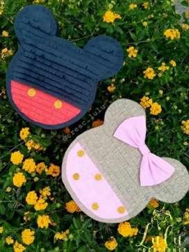 Hermosas mini piñatas de 10 cm de alto