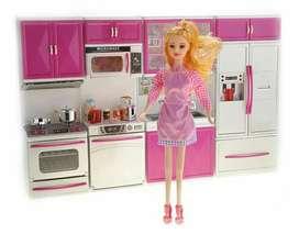 Cocinita para Barbie Deluxe