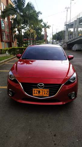 Vendo hermoso mazda 3 grand touring 2017 rojo