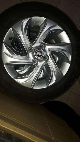 Llantas Completas de Fiat 4x100
