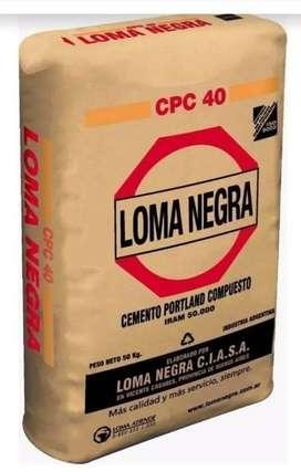 Cemento Loma Negra 50KG - Envíos Gratis