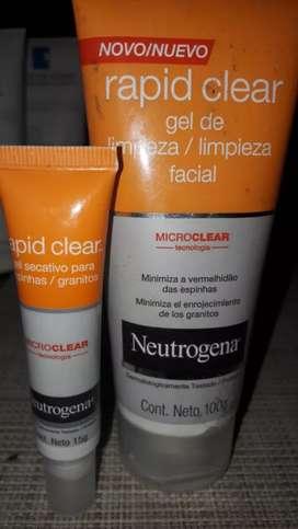 neutrogena limpieza facial