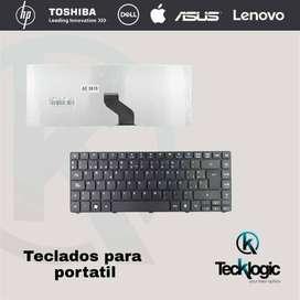 teclados para portátil