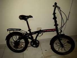 Se vende bicicleta plegable