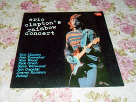 Eric Clapton´s Rainbow Concert. Vinilo 1973.