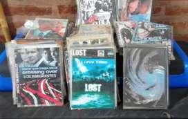 250 peliculas y series dvd (vta x lote)