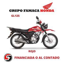 MOTO HONDA MODELO GL125 0 KM