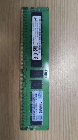 Vendo o cambio memoria ram para pc escritorio DDR4 de 8gb por ddr3 de 8gb