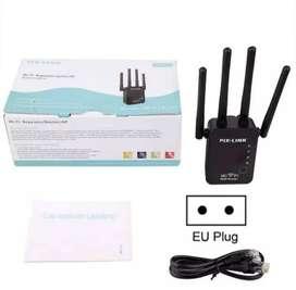 Repetidor WiFi amplificador 4 antenas