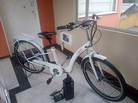 Excelente bicicleta electrica .