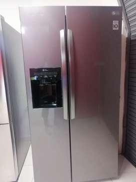Remate nevecom dos puertas marca LG de exhibición de almacenes