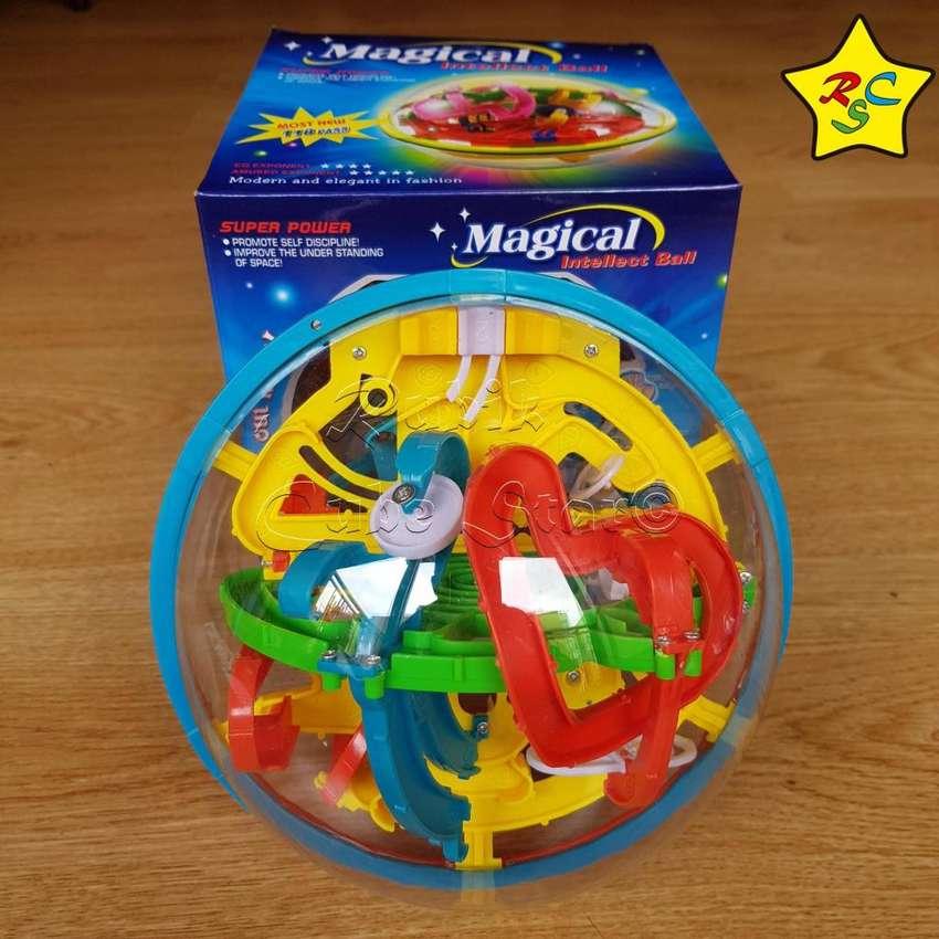 Esfera Laberinto Bola 3D Puzzle Rubik 17cm Rompecabeza Bola