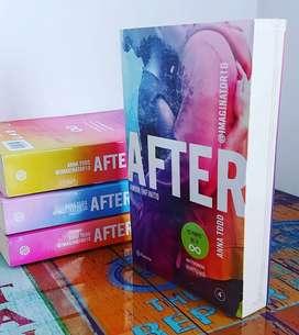 Cuarto libro de la saga After