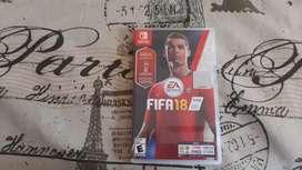 Juego FIFA 18 para nintendo switch en perfecto estado y poco usado