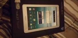 Vendo tablet noblex de 8 con funda y vidrio
