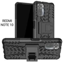Estuche Forro Case Antigolpes Tipo Armadura Xiaomi Redmi Note 9 9s 9t 10