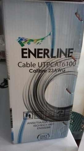 Cable Utp Enerline Categria 6