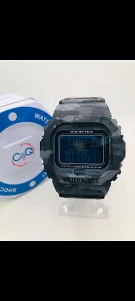 Relojes CYQ shock camuflados