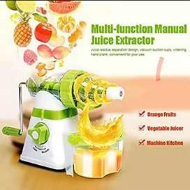 Extractor de jugos manual