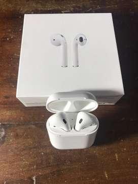 Apple airpods originales, con caja (sin cable lightning)