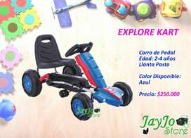 Carro de Pedal Explore para Niños