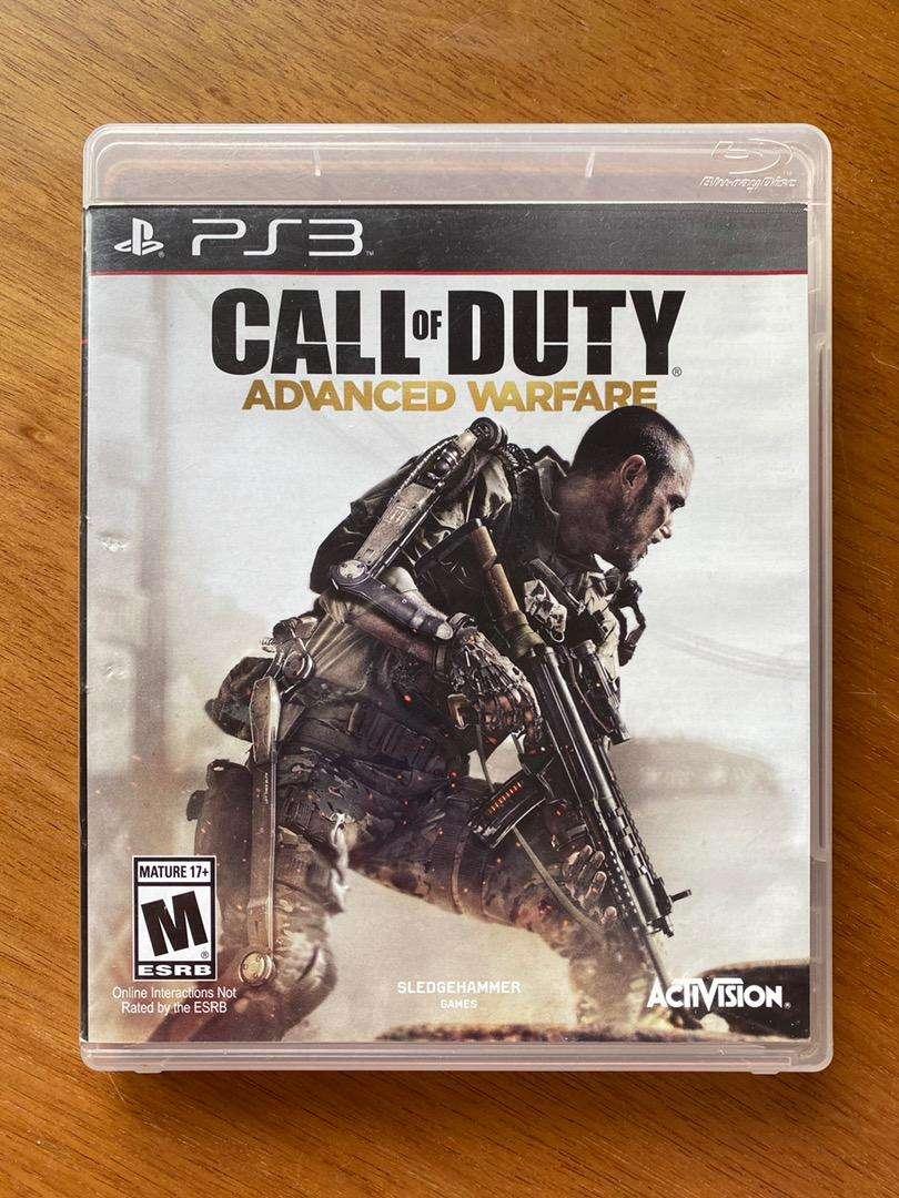 "Call of duty ""advanced warfare"" PS3 0"
