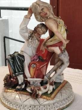 Porcelana fina y antigua Tiziano Galli-Dottore