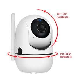 Cámara IP Wifi 1080p Auto Tracking Visión nocturna