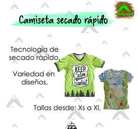 Camisetas de rápido secado