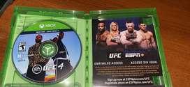 UFC 4 XBOX ONE/ XBOX SERIES X