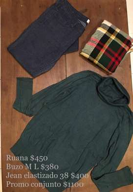 Buzos , camisas , jeans , remeras , calzados