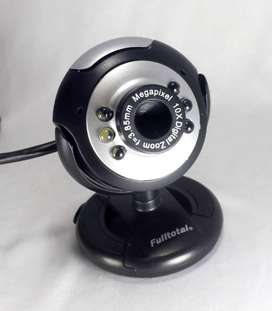 Camara webcam PC 2MPX videollamadas conferencias zoom skype