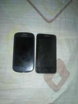 Vendo celulares para repuesto todo le funciona los vendo para repuesto por si necesitan sacarle algo para otro celular