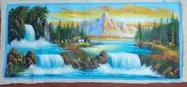 Pinturas al oleo espatuladas